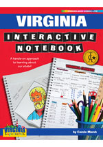 Virginia Interactive Notebook: A Hands-On Approach to Learning About Our State!