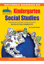 Virginia Experience Kindergarten Multimedia Resource Kit, 1-year Online Access