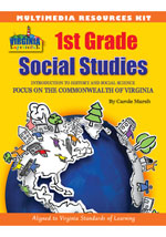 Virginia Experience 1st Grade Multimedia Resources Kit, 1-year Online Access