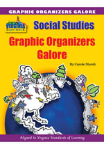 Virginia Experience Graphic Organizers Galore, 1-year Online Acess