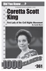 Coretta Scott King: First Lady of the Civil Rights Movement Consumable Pack 30