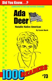 Ada Deer: Notable Native American