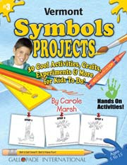 Vermont Symbols Projects - 30 Cool Activities, Crafts, Experiments & More for Kids to Do to Learn About Your State!