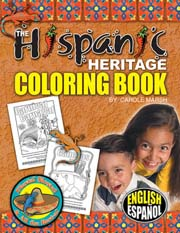 Hispanic Heritage Coloring Book