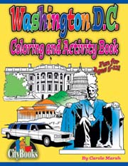 Washington D.C. Coloring & Activity Book