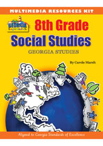 Georgia Experience 8th Grade Multimedia Resources Kit, 1-year Online Access