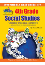 Georgia Experience 4th Grade Online Visual Aids, 1-year Access