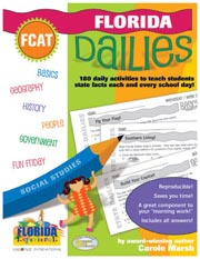 Florida Dailies: 180 Daily Activities for Kids