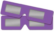 3D Glasses 2-pack