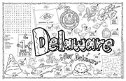 Delaware Symbols & Facts FunSheet – Pack of 30