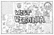 West Virginia Symbols & Facts FunSheet – Pack of 30
