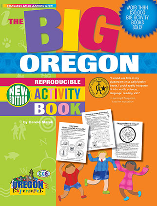 Oregon Big Reproducible Activity Book-New Version
