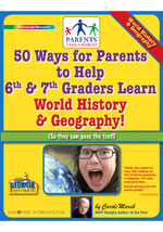 50 Ways for Parents to Help Georgia 6th & 7th Graders Learn World History and Geography!