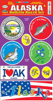 Alaska Bulletin Board Set