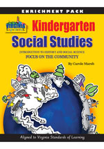 Virginia Kindergarten Grade Enrichment Pack