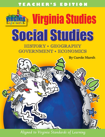 Virginia Studies Teacher's Edition-Workbook