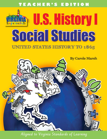 USA I: United States History (to 1865) Workbook - Teacher Edition