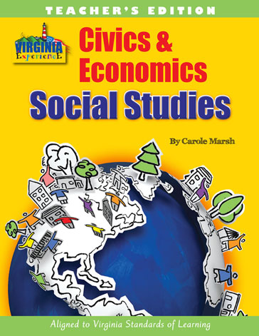 Virginia Civics & Economics Teacher Edition-Workbook