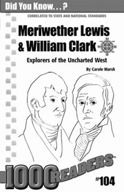 Meriwether Lewis & William Clark: Explorers of the Uncharted West Consumable Pack 30
