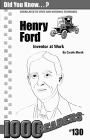 Henry Ford: Inventor at Work Consumable Pack 30