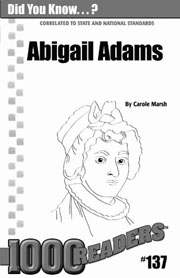 Abigail Adams: Revolutionary First Lady Consumable Pack 30