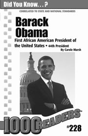 Barack Obama: First African American President of the United States Consumable Pack 30