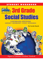 Louisiana Experience 3rd Grade Student Workbook NEW
