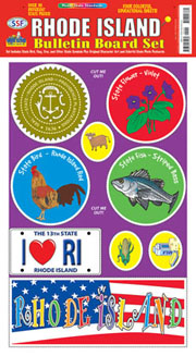 Rhode Island Bulletin Board Set