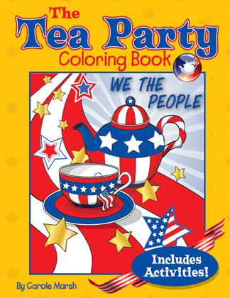 Gallopade International: The Tea Party Coloring Book