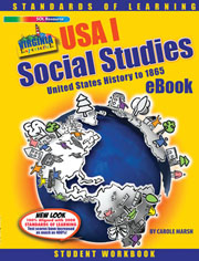 USA I History (to 1865) Student Workbook Online eBook