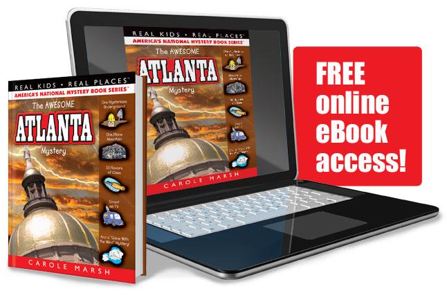 Gallopade International The Awesome Atlanta Mystery