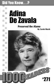 Adina de Zavala: Preserved the Alamo Consumable Pack 30