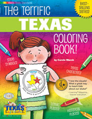 The Terrific Texas Coloring Book!