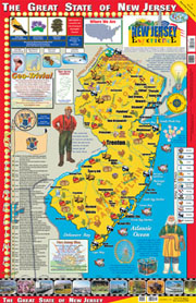 The New Jersey Experience Poster/Map!