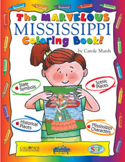 The Marvelous Mississippi Coloring Book!
