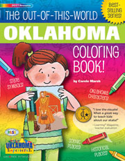 The Out-Of-This-World Oklahoma Coloring Book!
