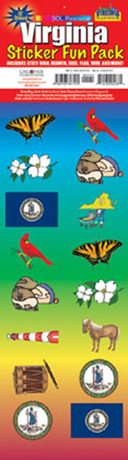 The Virginia Experience Sticker Pack!