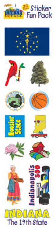 The Indiana Experience Sticker Pack