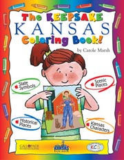 The Keepsake Kansas Coloring Book