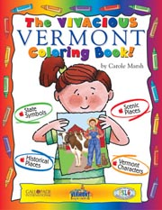 The Very Vermont Coloring Book!