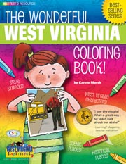 The Wonderful West Virginia Coloring Book!