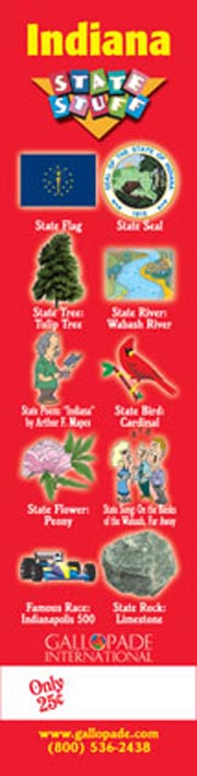 Indiana Symbols Bookmark