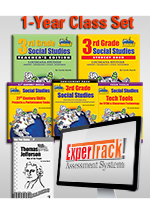 Louisiana Experience 3rd Grade Class Set with ExperTrack -1-year Class License