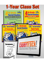 Louisiana Experience 4th Grade Teach, Test, Track Set - 1-year License