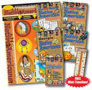 Native American Heritage Set including All-In-One Bulletin Board