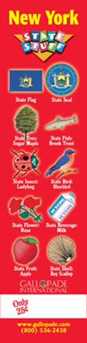 New York Symbols Bookmark
