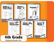 Interactive Write-In Readers Set for 4th Grade