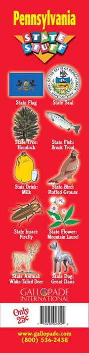 Pennsylvania Symbols Bookmark