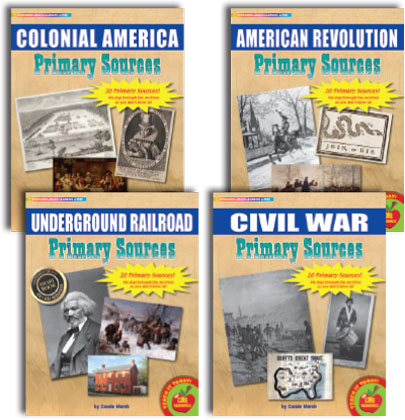 Primary Sources in American History - Set 1: Colonial through Civil War (1700s-1860s)