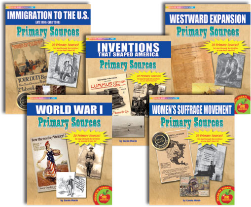 Primary Sources in American History - Set 2: Expansion & Growth (1880s-1920s)